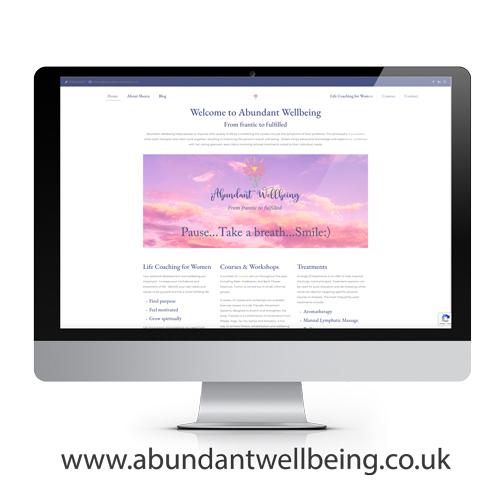 abundant wellbeing website