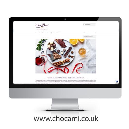 ChocAmi website design