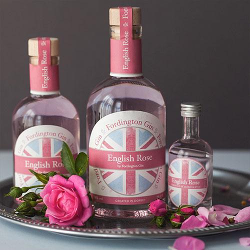 Fordington English Rose label designs