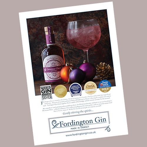 fordington gin advert style