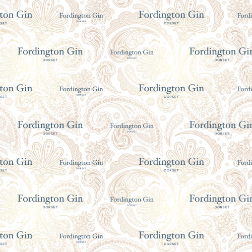 Fordington Gin wrapping paper